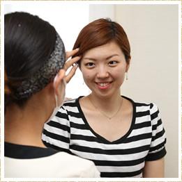 眉のデザインに重要な骨格分析を学べる